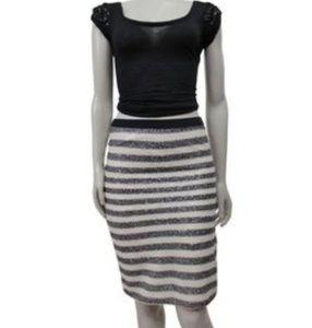 NWT Sequins Pencil Skirt